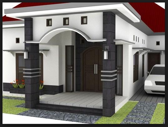 a54c3 desain teras depan rumah minimalis2b11